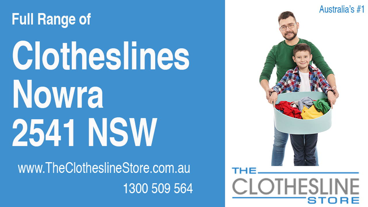 New Clotheslines in Nowra 2541 NSW