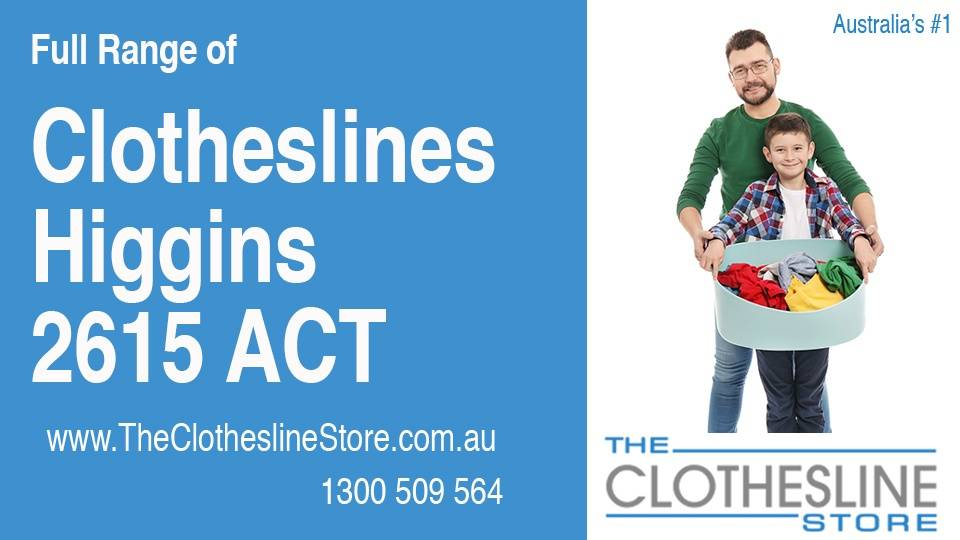 New Clotheslines in Higgins ACT 2615