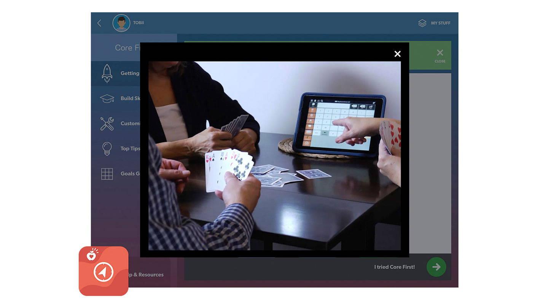 Screenshot von Pathways für Core First
