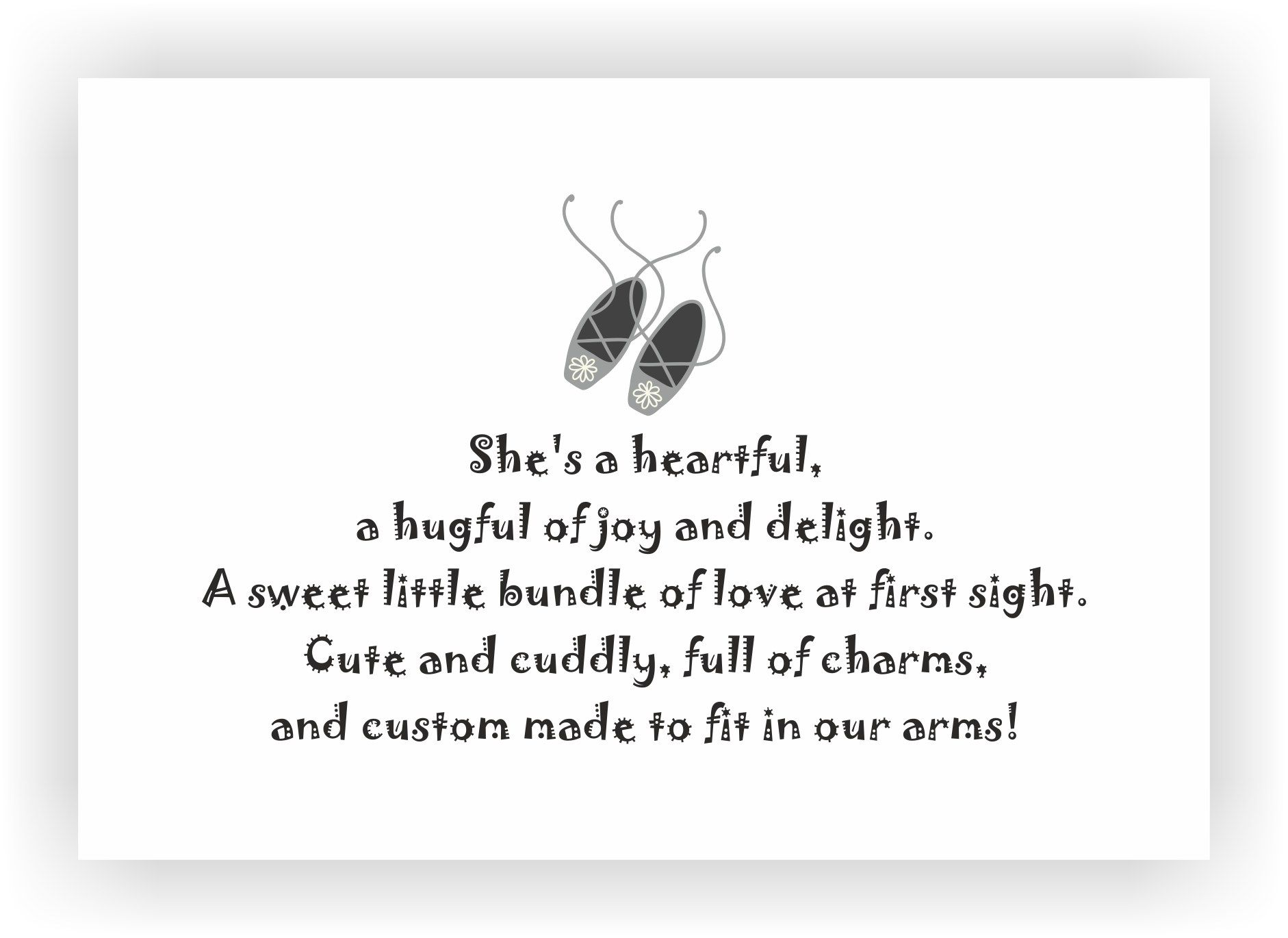 birth announcement message for girl - 10