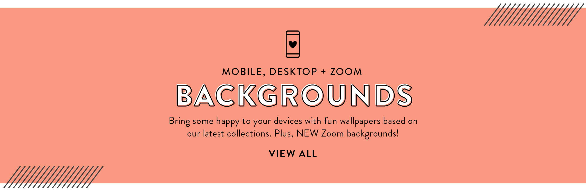 Mobile, Desktop + Zoom Background Downloads
