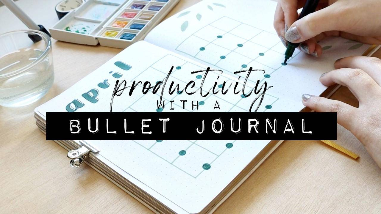 productivity with a bullet journal tite