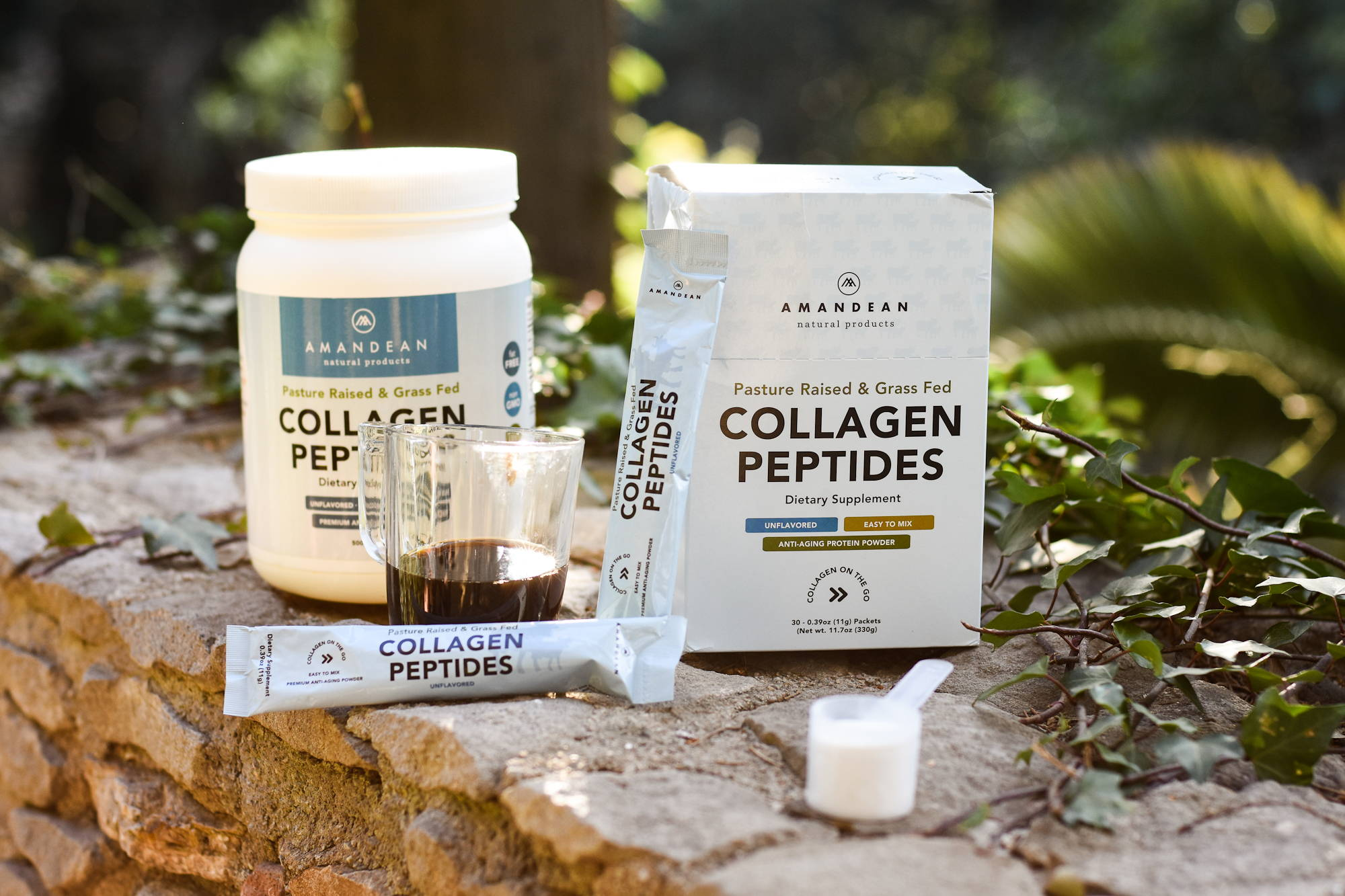 All-Natural Collagen Peptides Powder from Grass-Fed Cattle