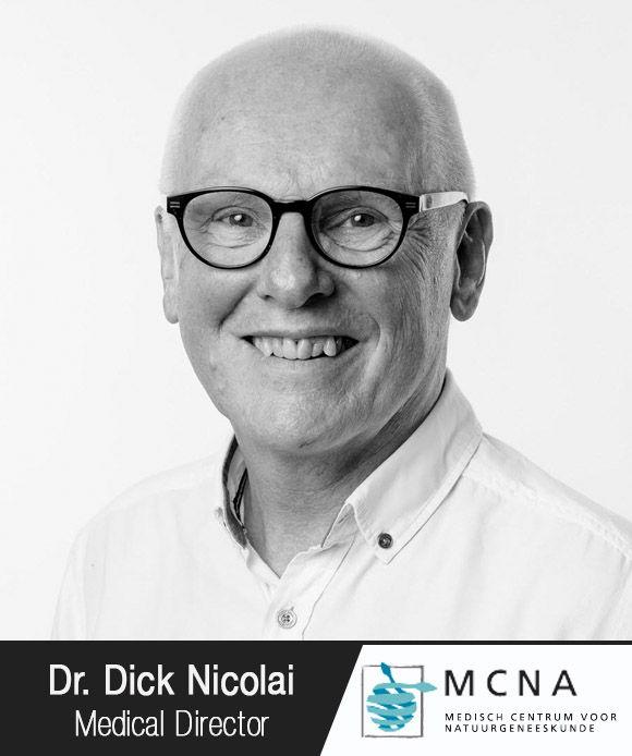 Dr. Dick Nicolai corporate headshot