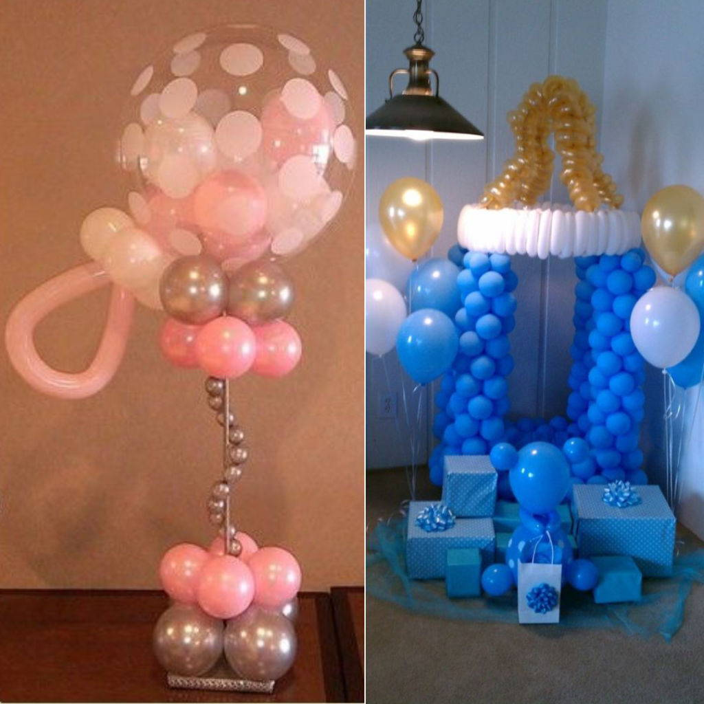 Baby Shower Balloons Decorations1 Party Zealot