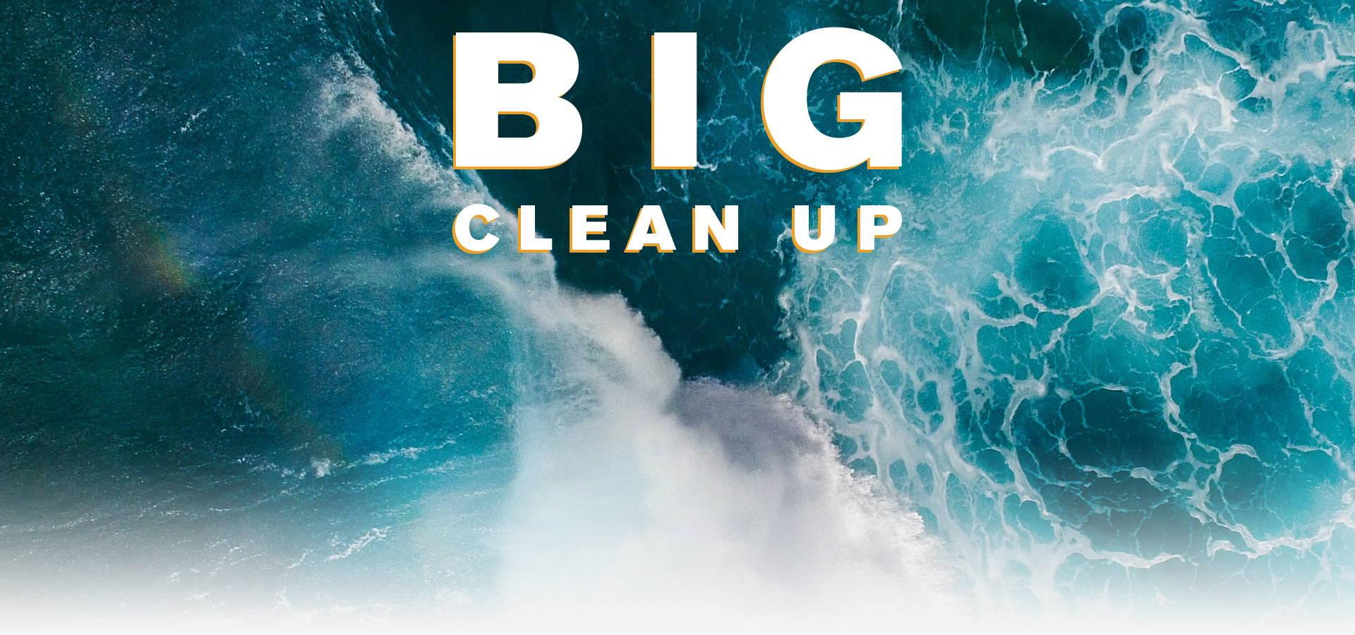 nu3 Big Clean Up - Nettoyage des déchets
