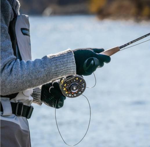 showers pass crosspoint knit waterproof fishing gloves
