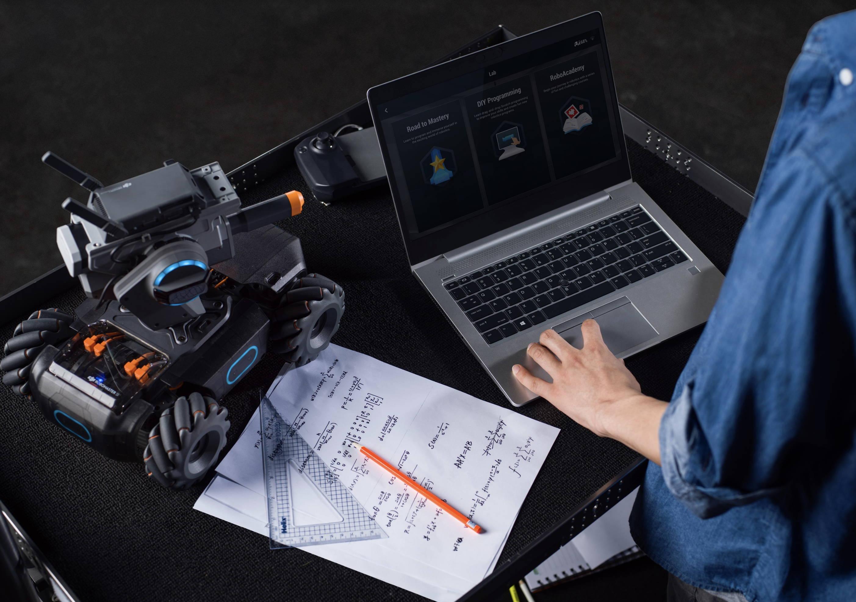 DJI RoboMaster S1  programming