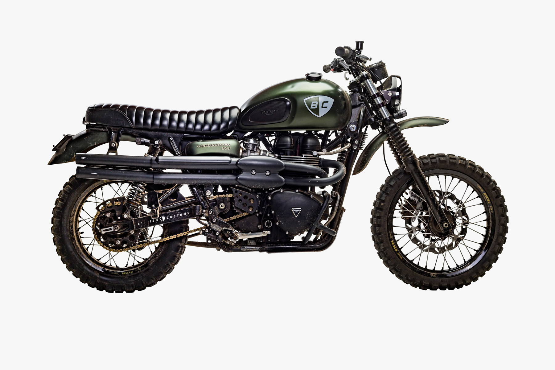 Triumph Scrambler Customized For Roads Trails Adventures And More