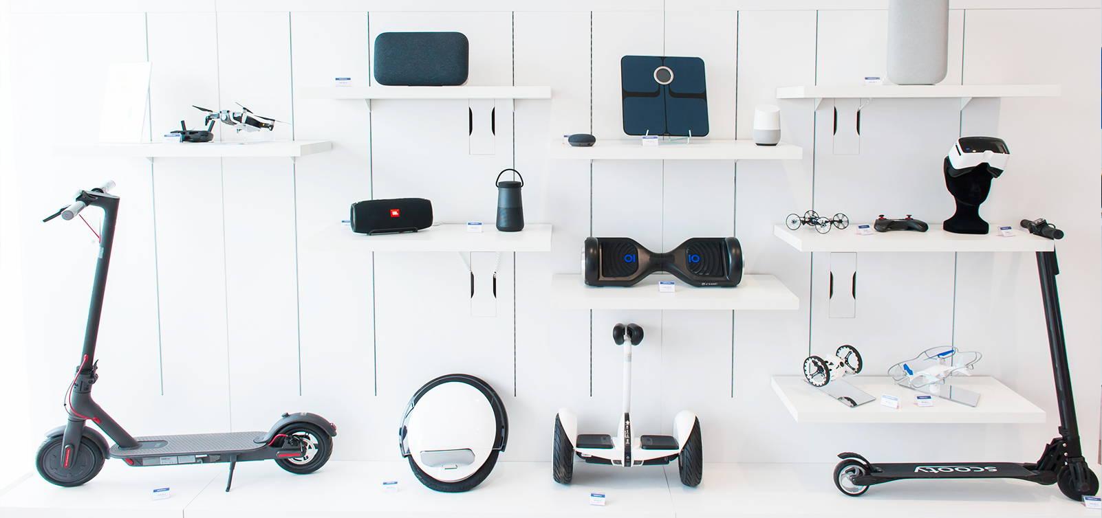 Une large gamme d'objets connectés