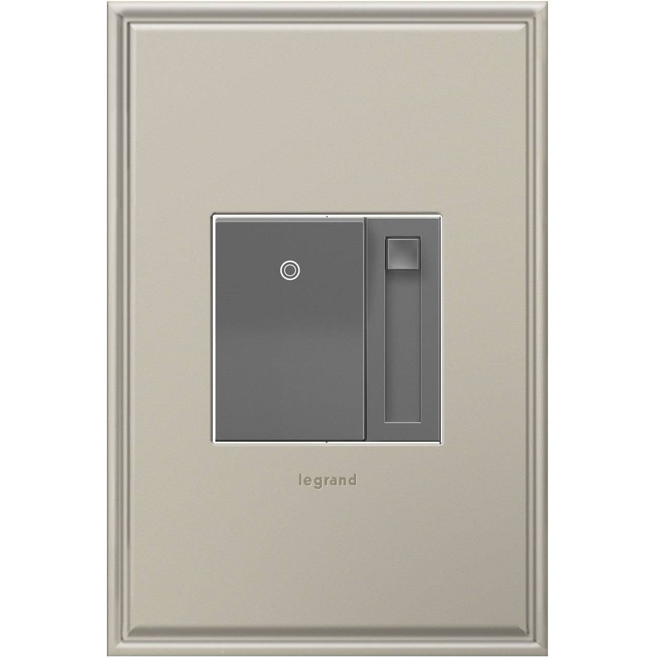 Legrand adorne  paddle dimmer incandescent and halogen clissic dimmer switch