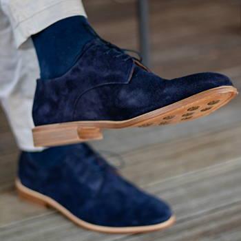 Chaussures en cuir pieds plats homme femme