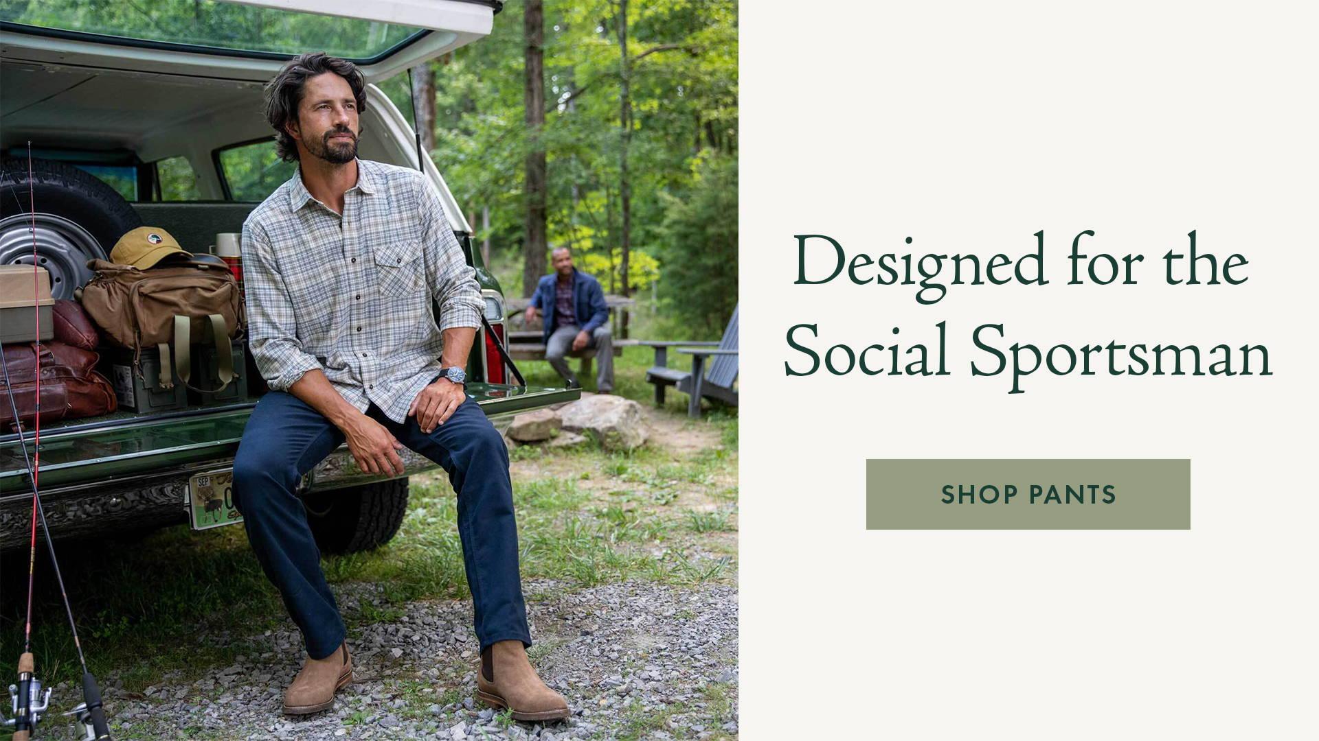 Designed for the Social Sportsman