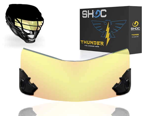 Lacrosse Visor by shoc - clear sunset