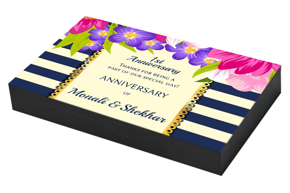 Floral return gift for 1st Anniversary