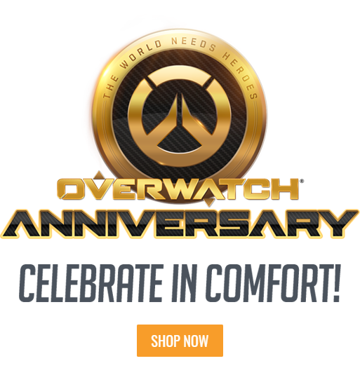Overwatch Anniversary. Celebrating in Comfort!