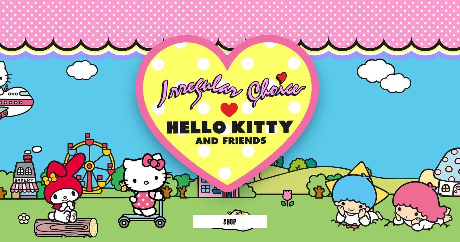 Irregular Choice x Hello Kitty