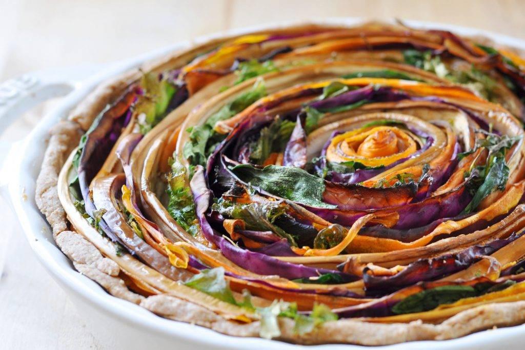 vegan-spiral-vegetable-tart