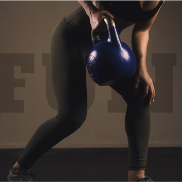 Kettlebell Deadlift with one arm
