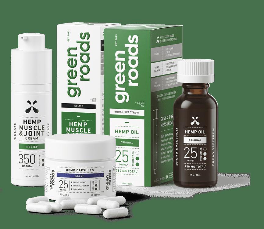 green roads hemp products