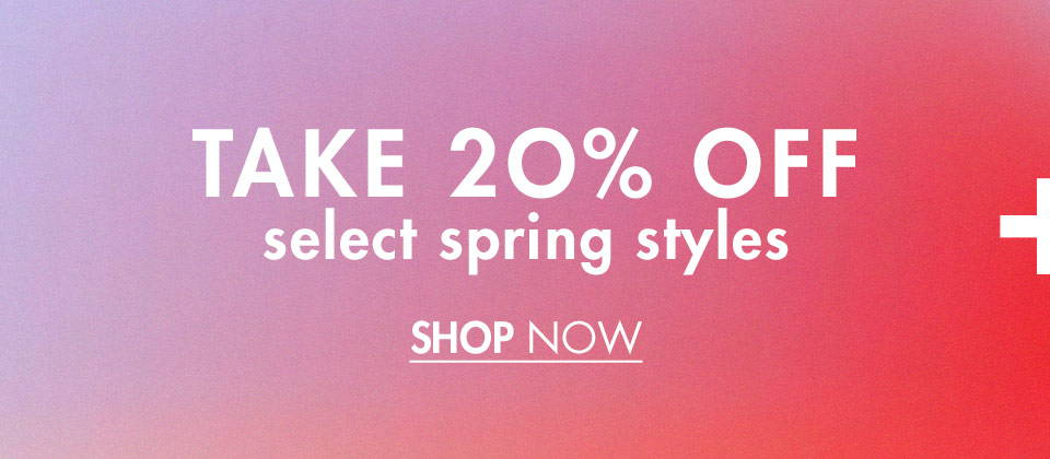Take 20% Off