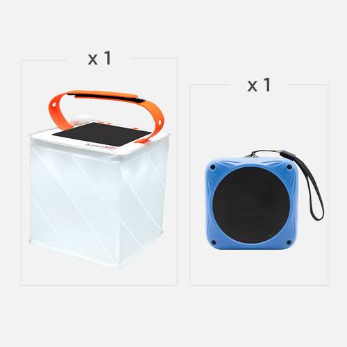 One Titan Power lantern, one sunfox speaker.