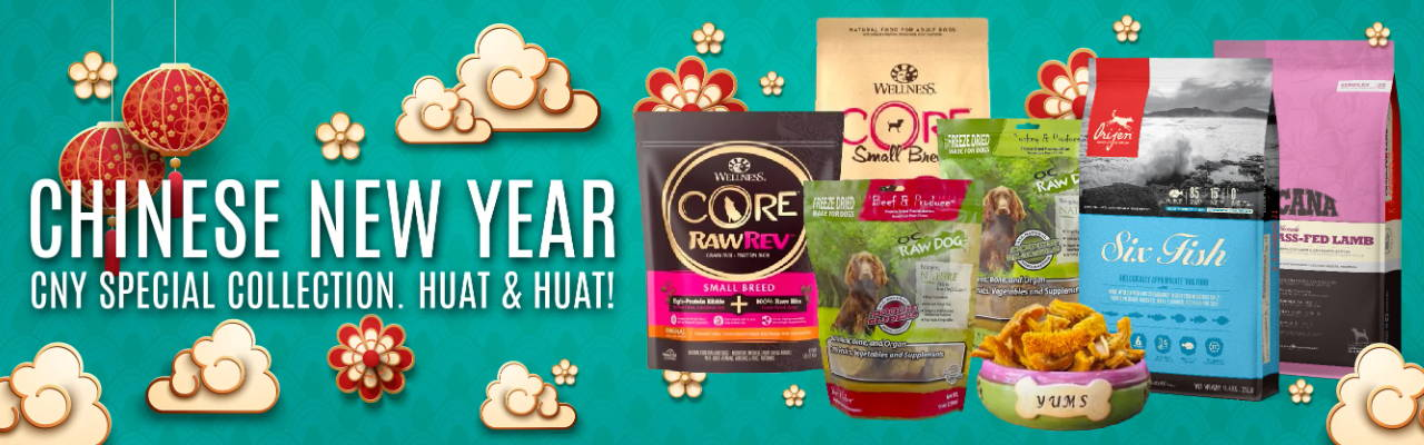 chinese new year pet promotion online pet shop singapore pawpy kisses.