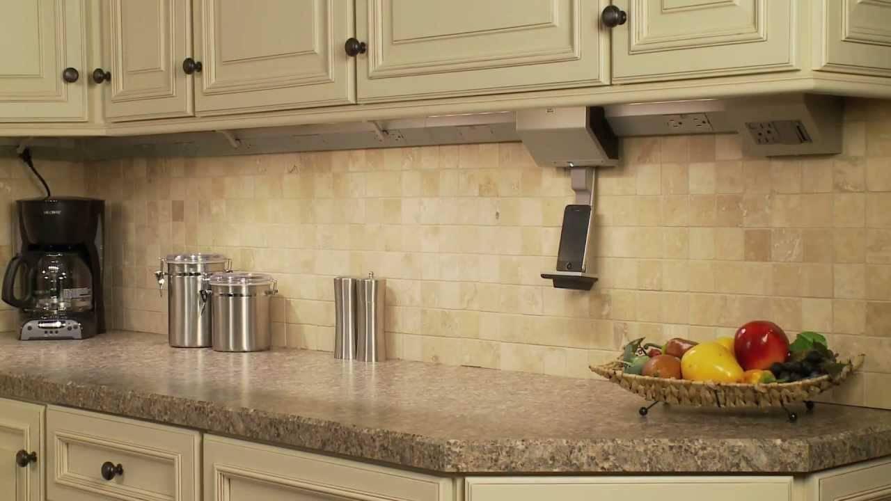 Legrand adorne lighting control example under cabinet track lighting