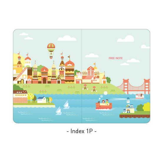 Index - Ardium 2020 Hello coco dated weekly diary planner