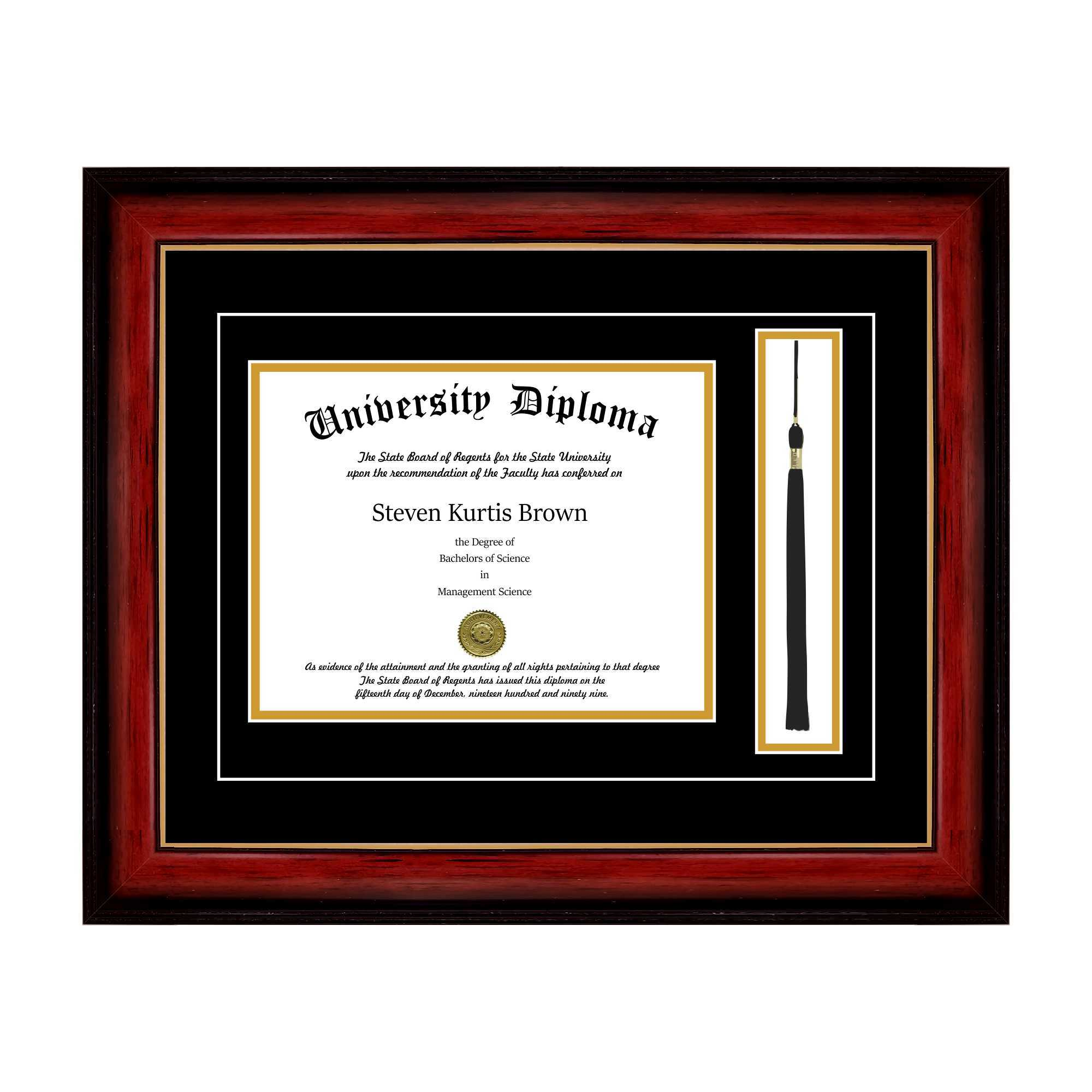 Diploma Frame with Tassel