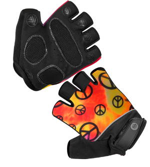 Peace Cycling Gloves