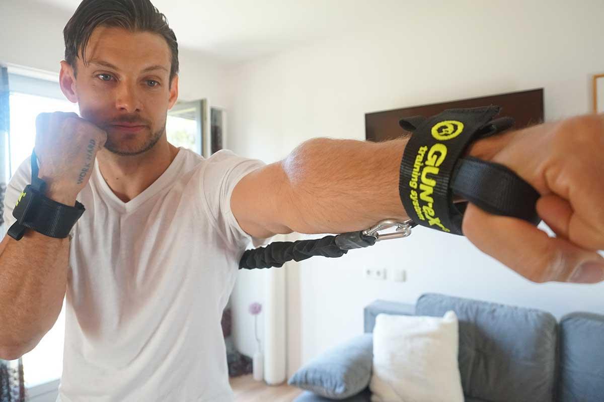 Battle Rope Übungen Arme
