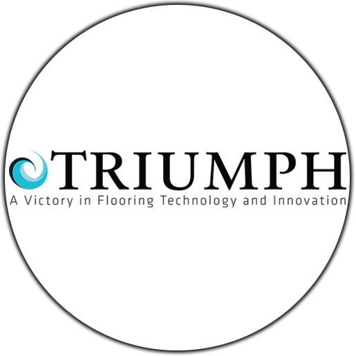 TRIUMPH - A VICTORY IN FLOORING TECHNOLOGY AND INNOVATION LOGO