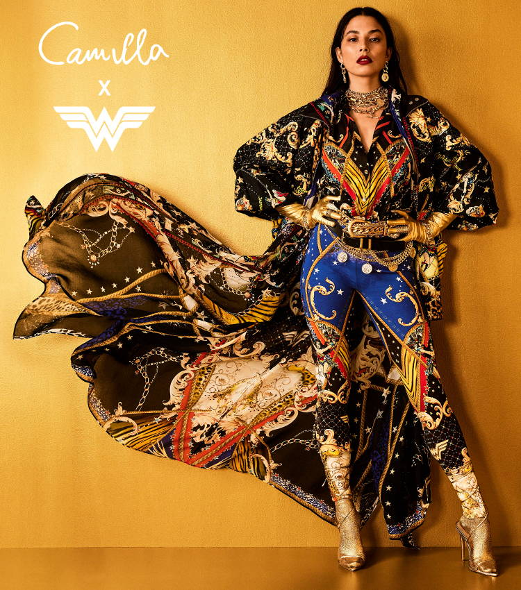CAMILLA Wonder Woman Collection, CAMILLA Wonder Woman Leggings, CAMILLA Wonder Woman Dress