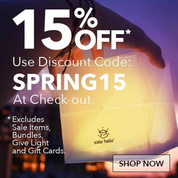15% off Regular Produts