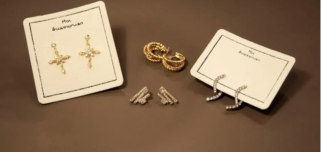 moi accessories diamond 14k gold earrings new arrivals