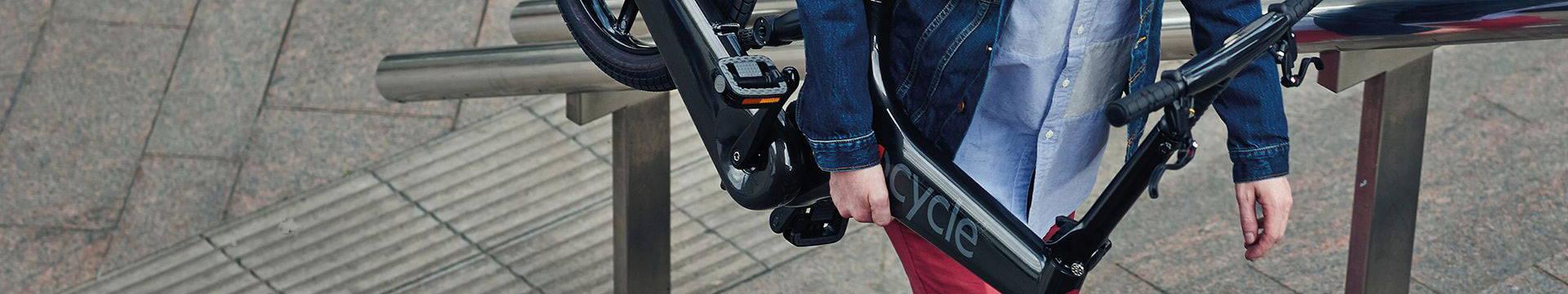 Portable Gocycle  electric folding bikes.