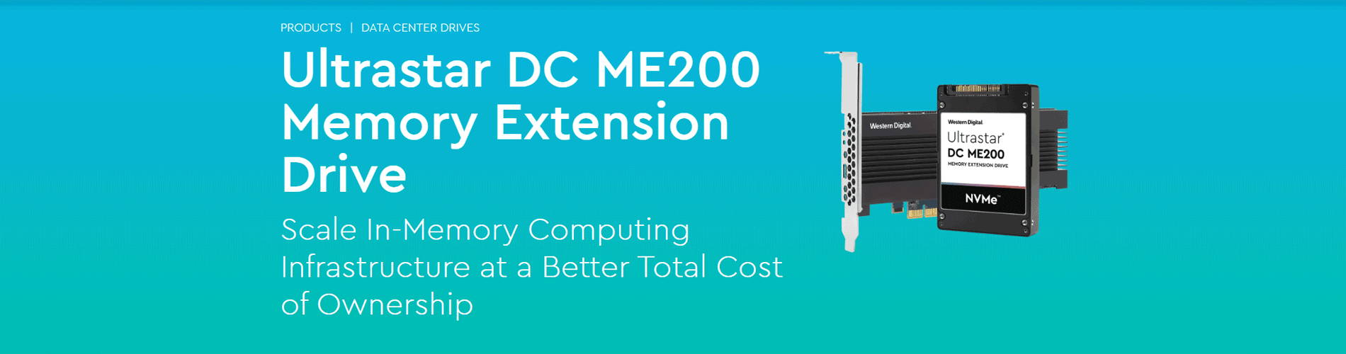 Ultrastar DCME200 Memory Extension Drive