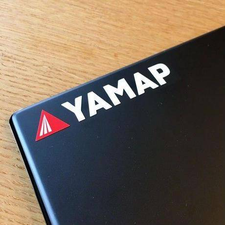 YAMAP(ヤマップ)/オリジナルカッティングステッカー(小)/ホワイト