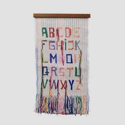 Modern Wall Art - Fabric Art