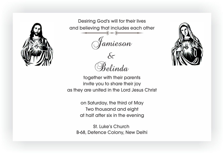 Wedding Text Message Invitation: Christian Wedding Invitation Wordings