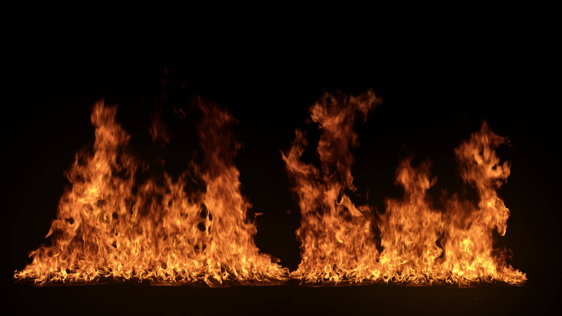 Large Ground Fire elements for VFX