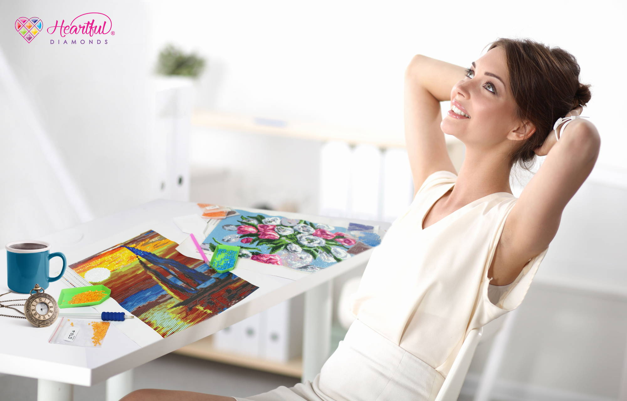 diamond painting benefits to your health