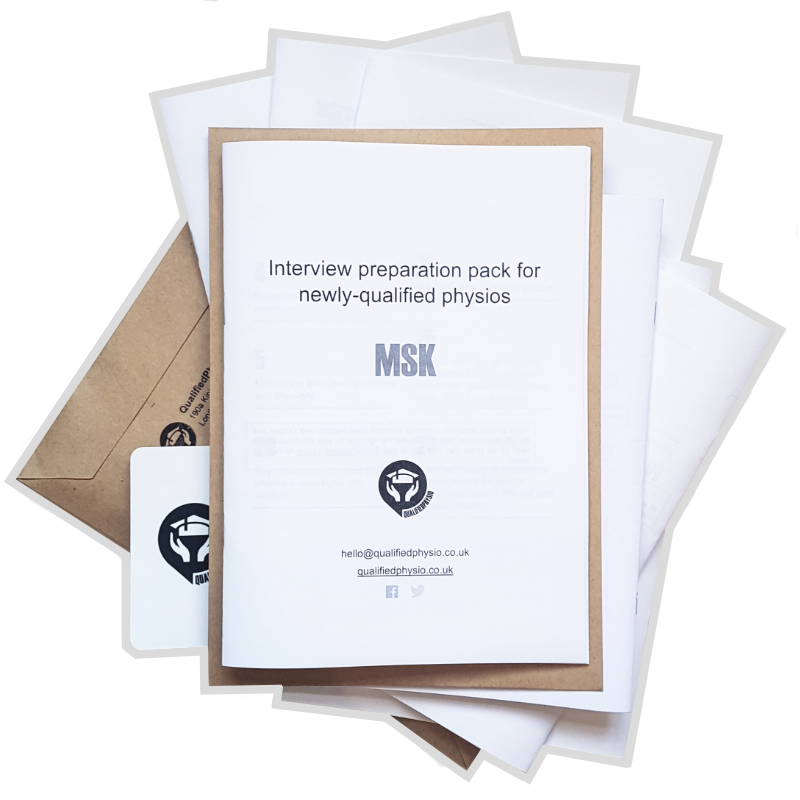 QualifiedPhysio MSK Interview Preparation Pack