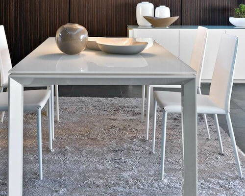 Calligaris Omnia Glass Extension Table
