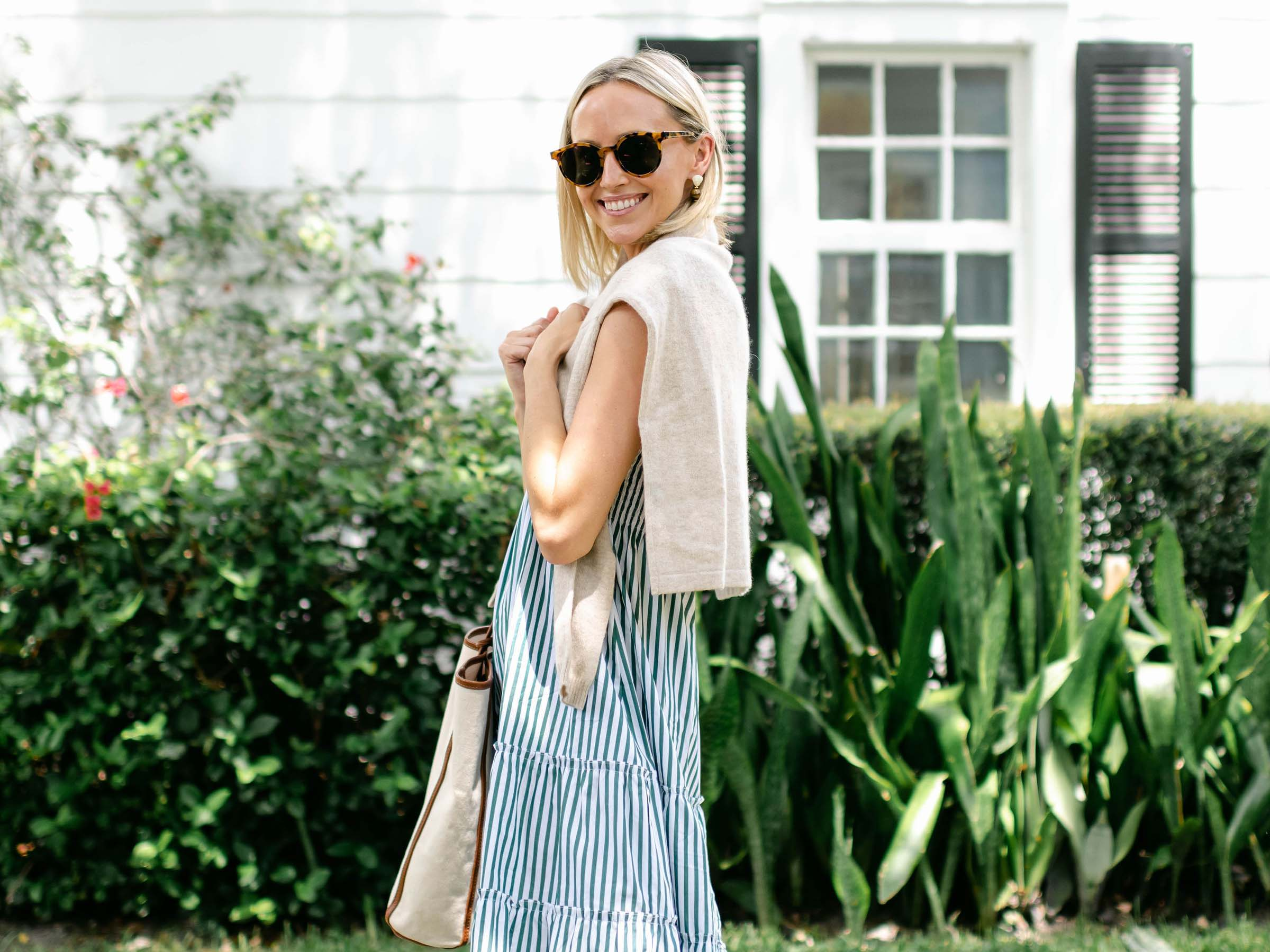 Sarah Tucker's Beautiful Smocked Style in Maxwell and Geraldine Smocked Dresses