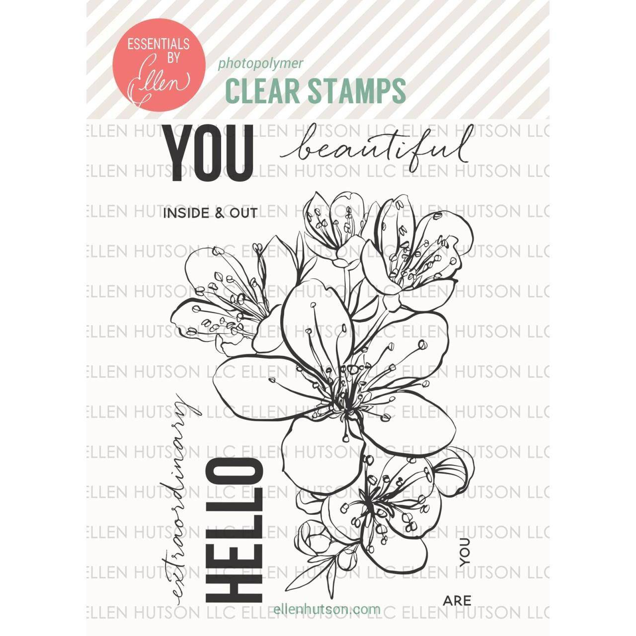 Essentials by Ellen Mondo Sakura stamps