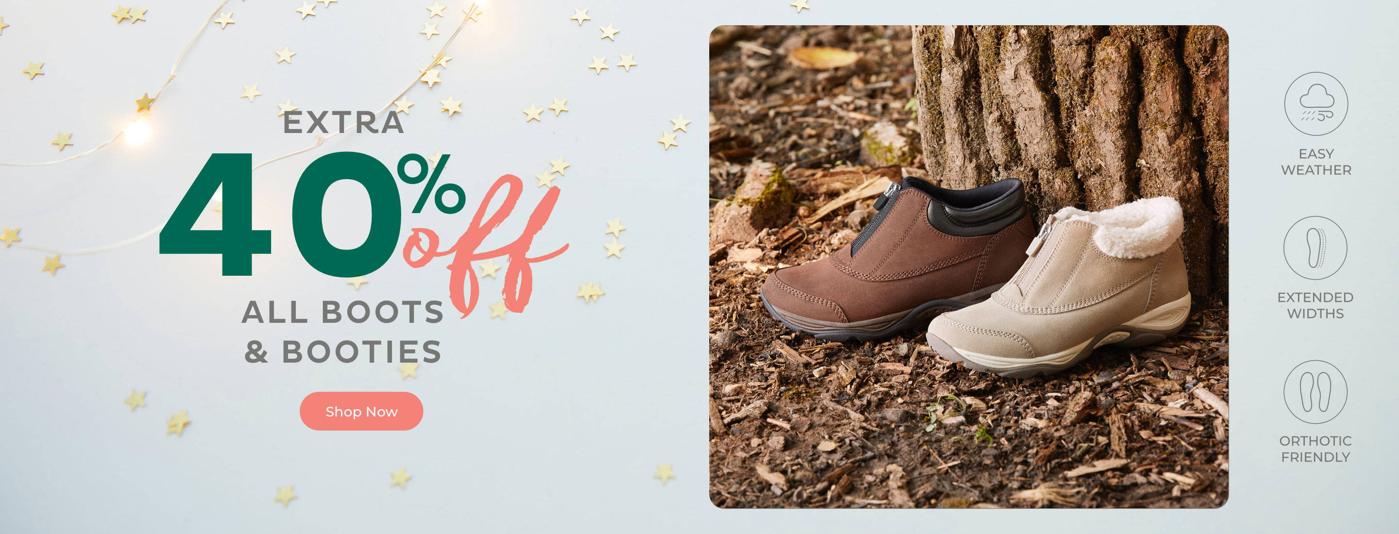 Extra 40% Off All Boots & Booties
