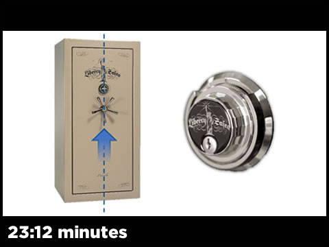Mechanical Lock Centered Handle With Keyed Lock