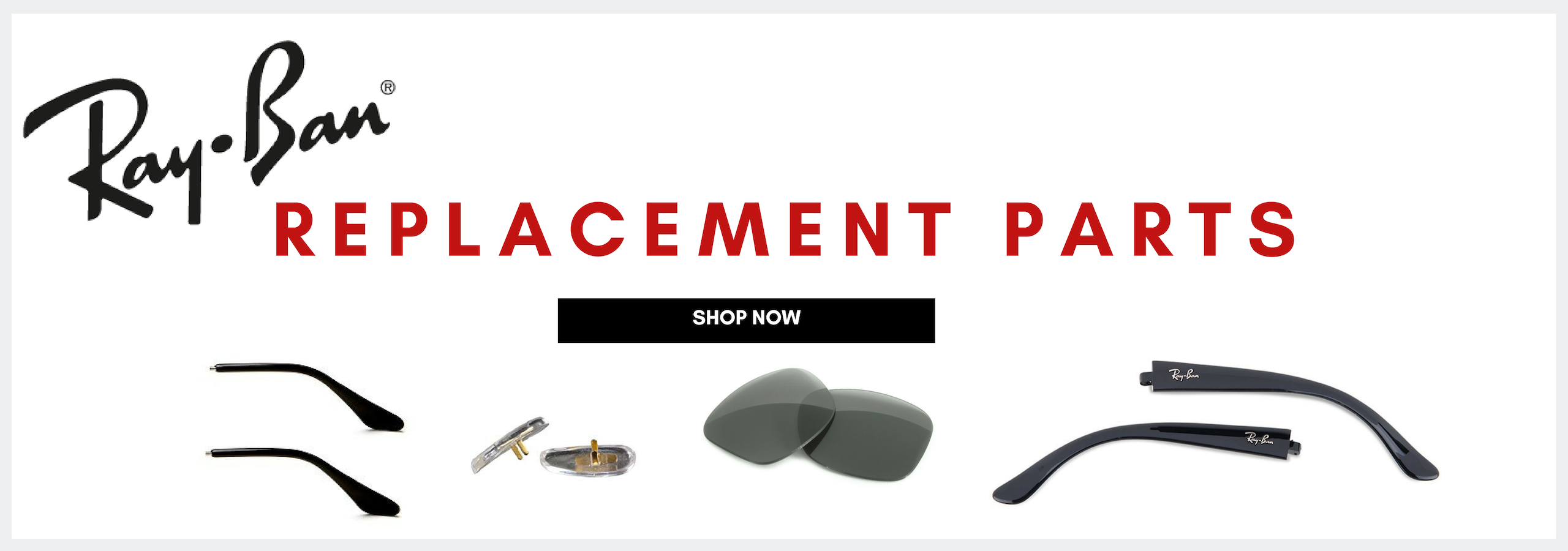 Ray-Ban replacement parts